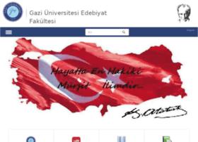 edebiyat.gazi.edu.tr