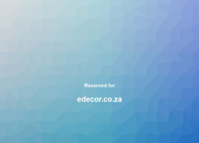 edecor.co.za