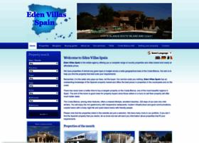 edenvillasspain.com