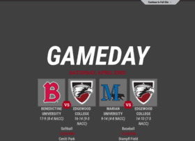 edgewoodcollegeeagles.com