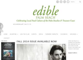 ediblepalmbeach.com
