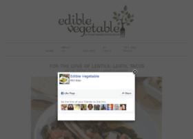 ediblevegetable.com