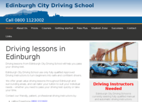 Edinburghcitydrivingschool.co.uk