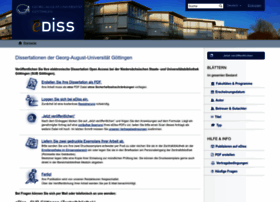 ediss.uni-goettingen.de