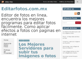 editarfotos.com.mx