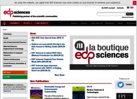 edpsciences.info