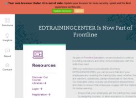 edtrainingcenter.com