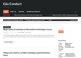 edu-conduct.com