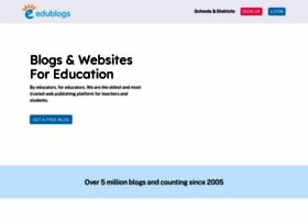 edublogs.org