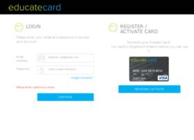 educatecard.com