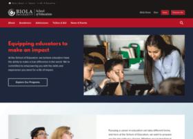 education.biola.edu