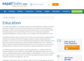 education.expatfinder.com