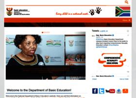 education.gov.za