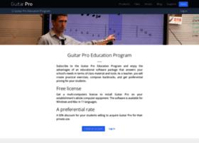education.guitar-pro.com