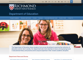 education.richmond.edu