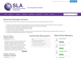 education.sla.org