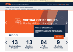 education.utsa.edu
