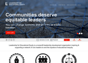 educationalequity.org