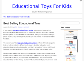 educationaltoysforkids.info
