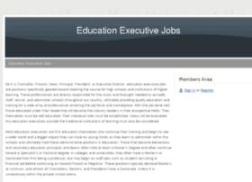 educationexecutivejobs.webs.com
