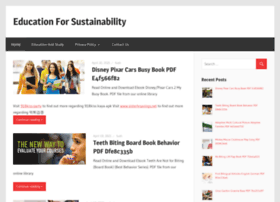 educationforsustainability.info