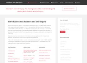 educatorsandselfinjury.com