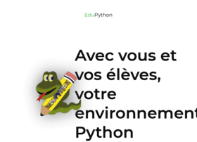 edupython.tuxfamily.org