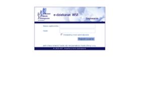 edziekanat.wsf.edu.pl
