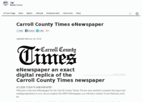 eedition.carrollcountytimes.com