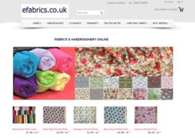 efabrics.co.uk