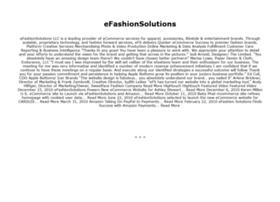 efashionsolutions.com