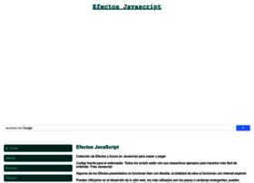efectosjavascript.com
