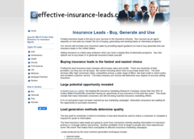 effective-insurance-leads.com