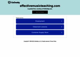 effectivemusicteaching.com