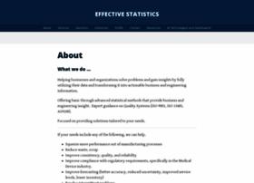 effectivestatistics.com
