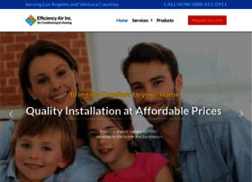efficiencyairconditioning.com