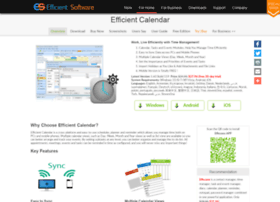 efficientcalendar.com