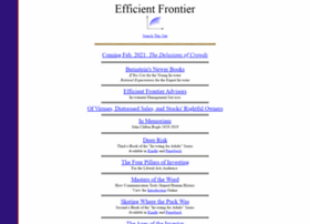 efficientfrontier.com