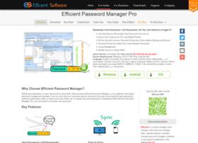 efficientpasswordmanager.com