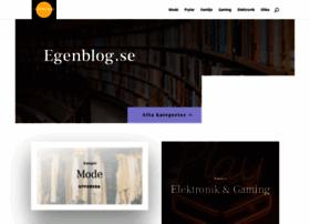 egenblog.se