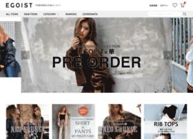 www.egoist-store.jp Visit site