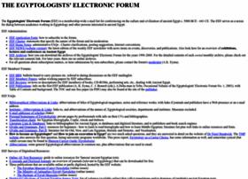 egyptologyforum.org