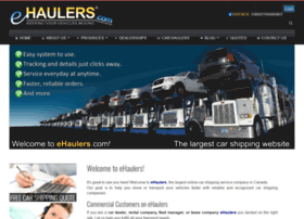 ehaulers.com
