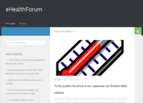 ehealthforum.it