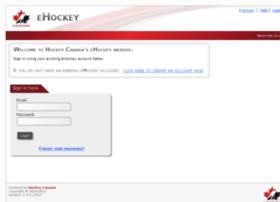 ehockey.hockeycanada.ca