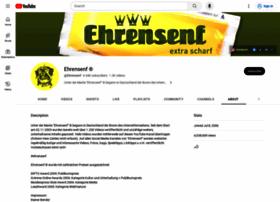 ehrensenf.de