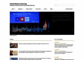 ehs.unu.edu
