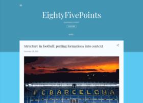 eightyfivepoints.blogspot.com