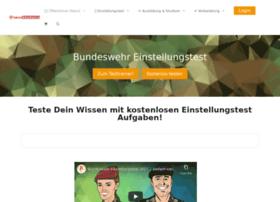 eignungstest-bundeswehr.plakos.de