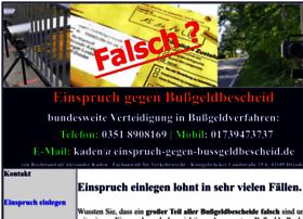 einspruch-gegen-bussgeldbescheid.de